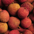 Stock Photo: Pile of Chinese lychee fruit nuts