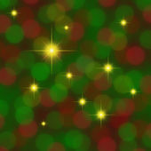 Red green background with gold stars — Stock Photo