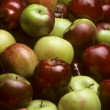 Pile of mixed varieties of apples — Stock Photo #1715092