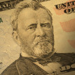 Stock Photo: Ulysses S. Grant on $50 bill