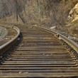 The Tumbling of railway — Stock Photo
