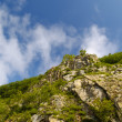 Stone declivity of mountain — Stock Photo #1790814