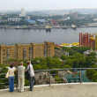 The Panorama of the city Vladivostok — Stock Photo