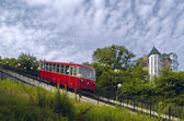 The Coach of funicular railway — Stock Photo