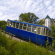 Stock Photo: Coach of funicular railway