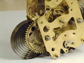 Clockwork fragment close up — Stock Photo