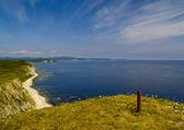 High sea coast — Stock Photo