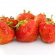 Royalty-Free Stock Photo: Some tasty ripe red strawberries