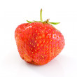Single tasty ripe red strawberry — Stock Photo #1645069