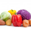 Some different vegetables — Stock Photo