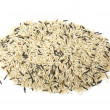 Pile of mixed rice grains — Stock Photo