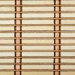 Close-up of bamboo plank straw mat — Stock Photo