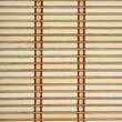 Stock Photo: Bamboo plank straw mat