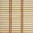 Bamboo plank straw mat — Stock Photo