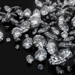 Royalty-Free Stock Photo: A lot of diamonds