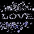 Royalty-Free Stock Photo: Valentines Day diamonds