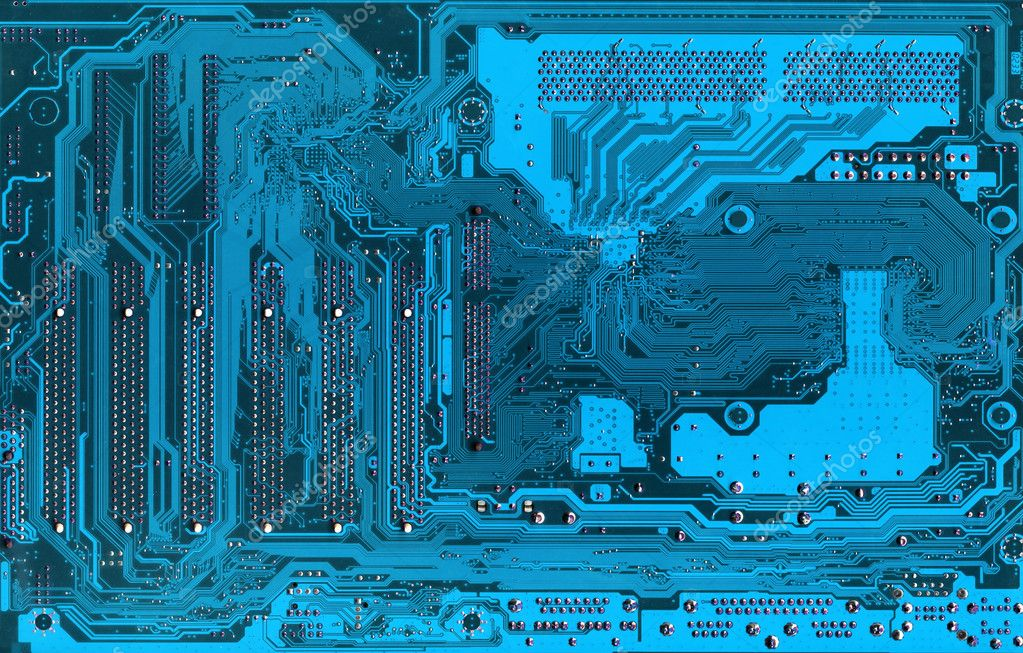 Blue Electronic background texture. Very hi rez photo — Stock Photo #1622867