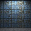 Old metal wall - Foto Stock
