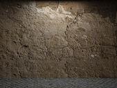 Oude betonnen wand — Stockfoto