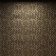 Illuminated fabric wallpaper — Stock Photo #2613938