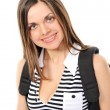 Young female student with a backpack — Stock Photo #2679244