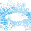 Vector banners for winter. — Stock Vector #1667061