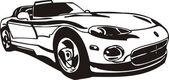 Sport auto — Stock vektor