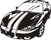 Sport car — Stock Vector
