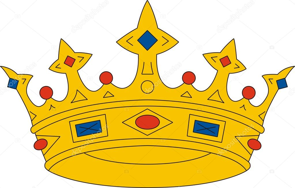 Vector illustration of crown  Stock Vector #1663786