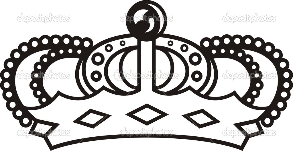 Vector illustration of crown — Stock Vector #1663867