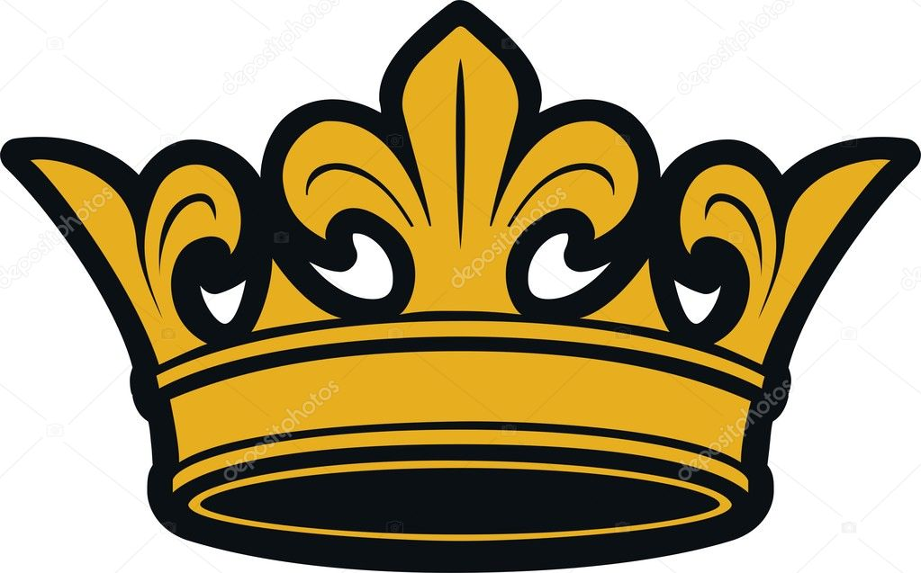 Vector illustration of crown  Stock Vector #1663895