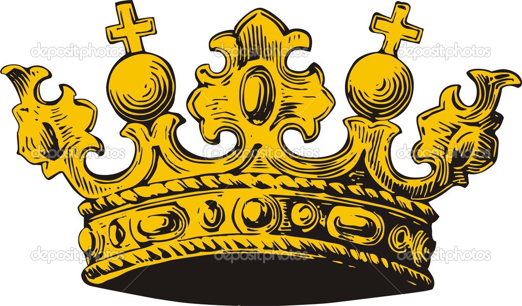 Vector illustration of crown  Stock Vector #1664031