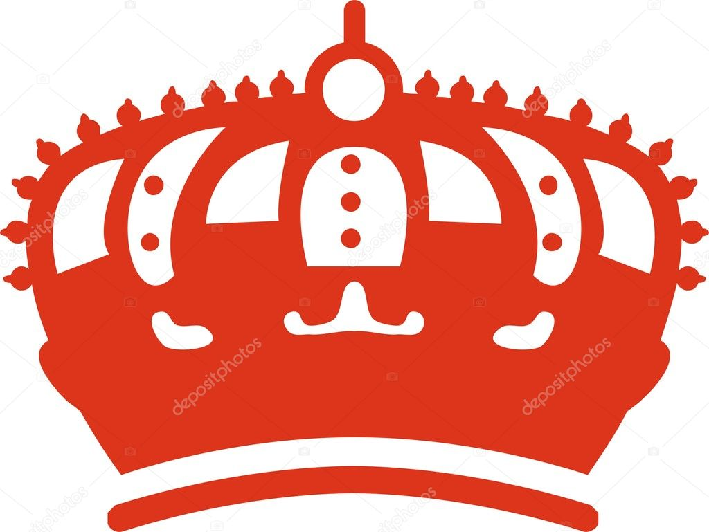 Vector illustration of crown — Stock Vector #1664047