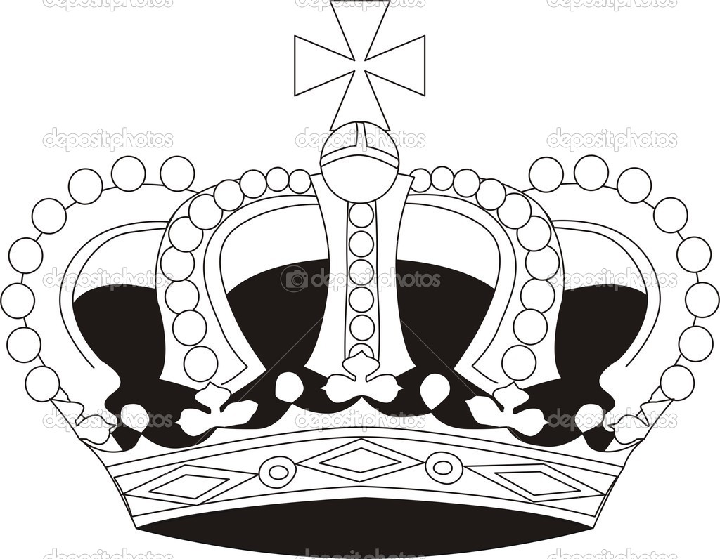 Vector illustration of crown  Stock Vector #1664127