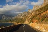 Coastal road of False Bay, South Africa — Stock Photo