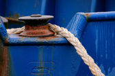 Anchor rope — Stock Photo