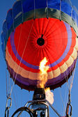 Hot air balloon — Stock Photo