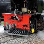 locomotora vapor — Foto de Stock