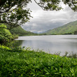 Lake at Kylemore Abbey Castle — ストック写真