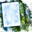 Стоковое фото: Vintage winter textured background