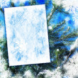 Vintage winter textured background — Foto de stock #1767156