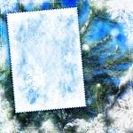 fundo de inverno vintage texturizado — Foto Stock