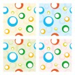 Stock Vector: Four seamless baby patterns