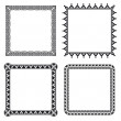 Geometric ornamental frames - Stock Vector