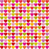 Hearts seamless pattern — Stockvector