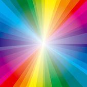 Spectrum rays background — Stock Vector