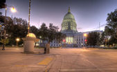 Wisconsin State Capital, HDR — Stock Photo