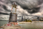 Chicago, HDR — Stock Photo