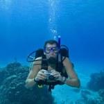 Scuba Diver — Stock Photo #1705864