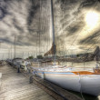 Sailboat, HDR — Stock Photo #1811529